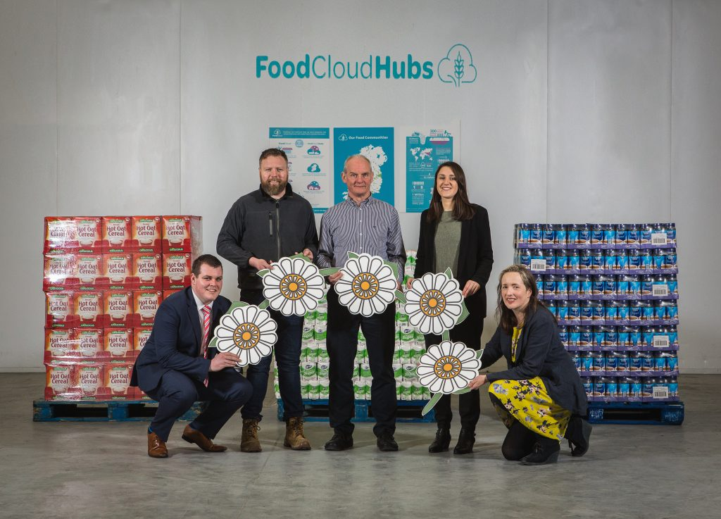 Partners of the FoodCloud Hubs energy upgrade include Dayse, ESB, Mondalez Ireland and DC Facilities